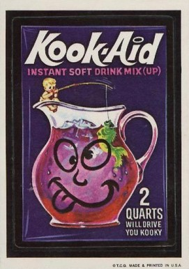 1973 Topps Wacky Packages 1st Series Kook-Aid #23 Non-Sports Card
