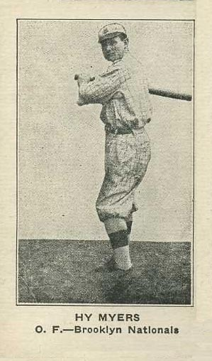 1922 W575-1 Strip Card Hy Myers #116 Baseball Card