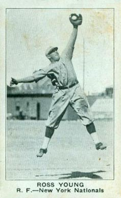 1922 Strip Card Ross Young #202 Baseball Card