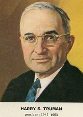 1960 Golden Press Presidents Harry Truman #32 Non-Sports Card
