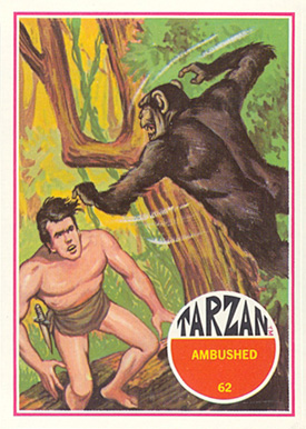 1966 Tarzan   #62 Non-Sports Card