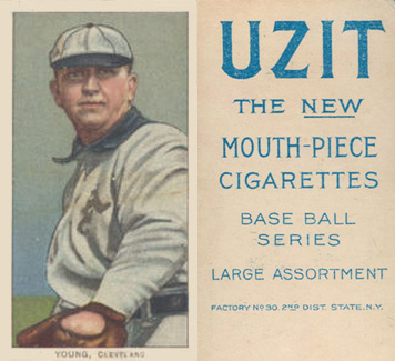 1909 White Borders (UZIT) Cy Young #521 Baseball Card