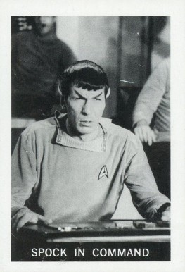 1967 Leaf Star Trek   #11 Non-Sports Card