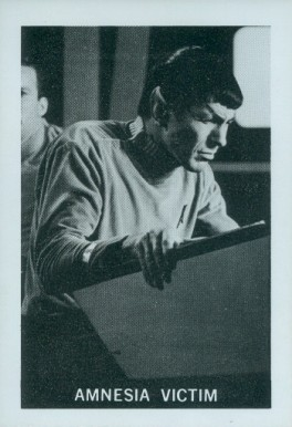 1967 Leaf Star Trek   #38 Non-Sports Card