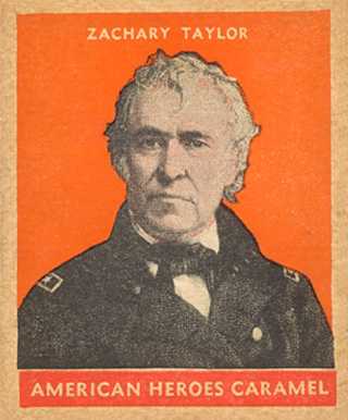 1932 U.S. Caramel Presidents Zachary Taylor #12 Non-Sports Card