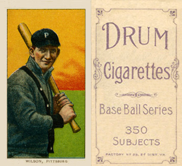 1909 White Borders (Drum 350) Owen Wilson #516 Baseball Card