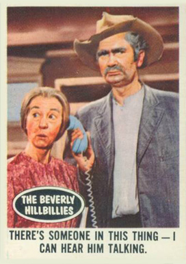 1963 Topps Beverly Hillbillies   #66 Non-Sports Card
