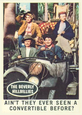 1963 Topps Beverly Hillbillies   #36 Non-Sports Card