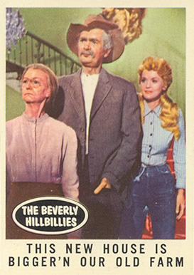 1963 Topps Beverly Hillbillies   #45 Non-Sports Card