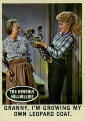 1963 Topps Beverly Hillbillies   #10 Non-Sports Card