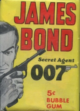 1965 Topps James Bond  Wax Pack #WP Non-Sports Card
