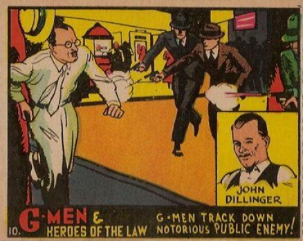 1936 G-Men and Heroes of the Law   #1 Non-Sports Card