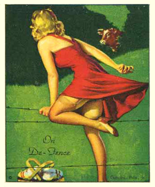 1944 American Beauties   #15 Non-Sports Card