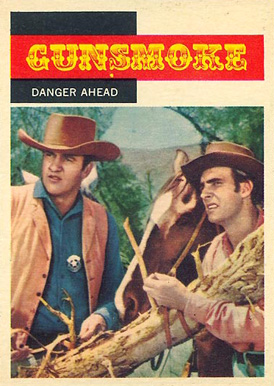 1958 TV Westerns   #8 Non-Sports Card