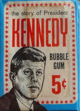1964 Topps John F Kennedy WP Non Sports Card