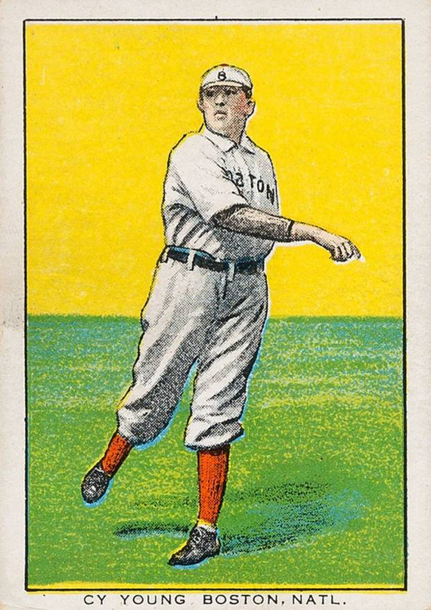 1911 Brunners Bread Cy Young, Boston, Natl. #30 Baseball Card