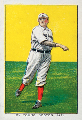 1911 General Baking Co. Cy Young #30 Baseball Card