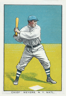 1911 General Baking Co. Chief Meyers, N.Y. Natl. #24 Baseball Card