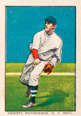 1911 General Baking Co. Christy Mathewson #22 Baseball Card