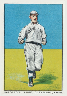 1911 General Baking Co. Napoleon Lajoie, Cleveland, Amer. #20 Baseball Card