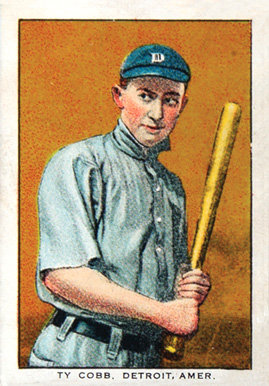 1911 General Baking Co. Ty Cobb #9 Baseball Card