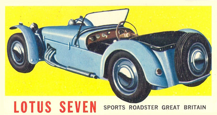 1961 Topps Sports Cars   #1 Non-Sports Card