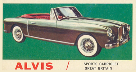 1961 Topps Sports Cars   #51 Non-Sports Card