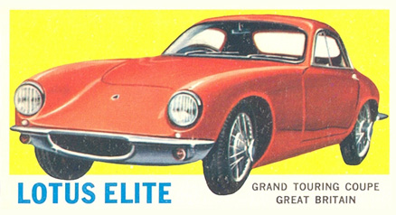 1961 Topps Sports Cars   #66 Non-Sports Card