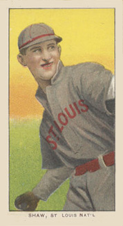 1909 White Borders (Piedmont & Sweet Caporal) Al Shaw #440 Baseball Card