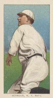 1909 White Borders (Piedmont & Sweet Caporal) Cy Seymour #436 Baseball Card