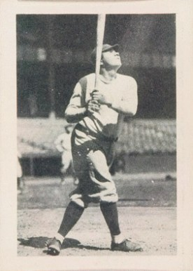 1939 African Tobacco Babe Ruth #34 Baseball Card
