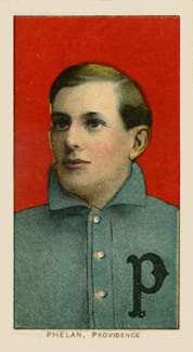 1909 White Borders (Piedmont & Sweet Caporal) Jimmy Phelan #391 Baseball Card