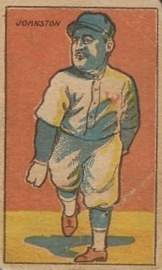 1916 W-UNC Strip Cards (1916-20) Walter Johnson #11 Baseball Card