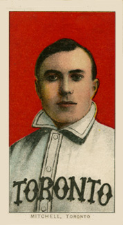 1909 White Borders (Piedmont & Sweet Caporal) Fred Mitchell #338 Baseball Card