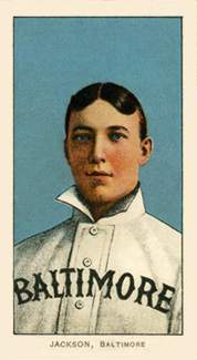1909 White Borders (Piedmont & Sweet Caporal) Jimmy Jackson #231 Baseball Card