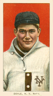 1909 White Borders (Piedmont & Sweet Caporal) Larry Doyle #149 Baseball Card