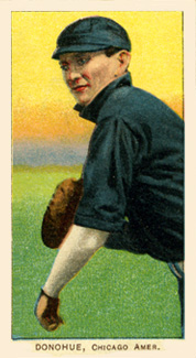 1909 White Borders (Piedmont & Sweet Caporal) Jiggs Donohue #134 Baseball Card