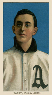 1909 White Borders (Piedmont & Sweet Caporal) Jack Barry #20 Baseball Card