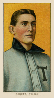 1909 White Borders (Piedmont & Sweet Caporal) Fred Abbott #3 Baseball Card