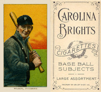 1909 White Borders (Carolina Brights) Owen Wilson #516 Baseball Card