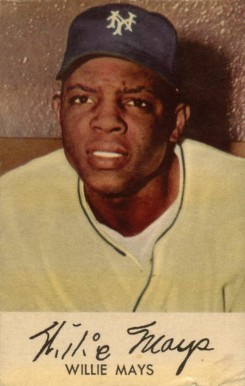 1953 Briggs Meats Willie Mays #18 Baseball Card