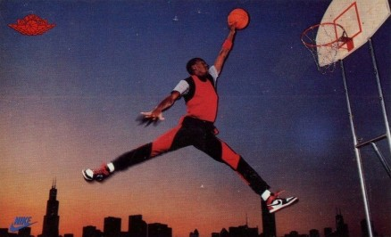 1985 Nike Michael Jordan #2 Basketball Card