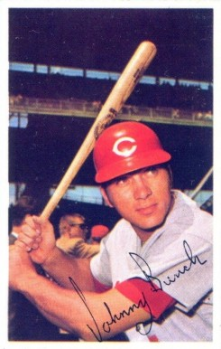 1971 Dell Stamps Johnny Bench # Baseball Card