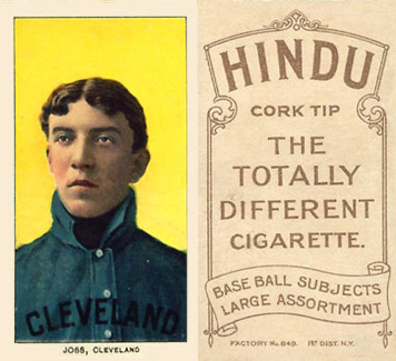 1909 White Borders (Brown Hindu) Addie Joss #245 Baseball Card