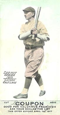 1916 Zeenut (1916) Elmer Zacher #141 Baseball Card