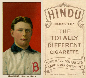 1909 White Borders Hindu-Brown Beaumont, Boston Nat'l #26 Baseball Card