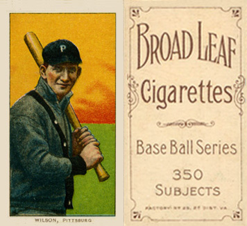 1909 White Borders (Broadleaf 350) Owen Wilson #516 Baseball Card