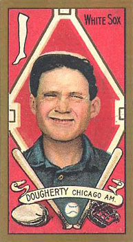 1911 Gold Borders Hindu Patsy Dougherty #54 Baseball Card