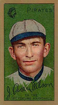 1911 Gold Borders Owen Wilson #216 Baseball Card