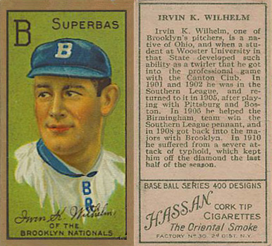 1911 Gold Borders Kaiser Wilhelm #213 Baseball Card